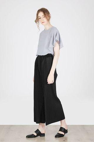 Celana Prisket Kulot Black free size S - XXL