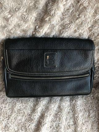 Men's Document and Passport Carry Bag