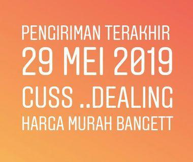 Pengiriman trkhr 29 mei 2019