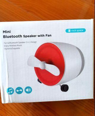 Brandnew Rock Space Mini Bluetooth Speaker