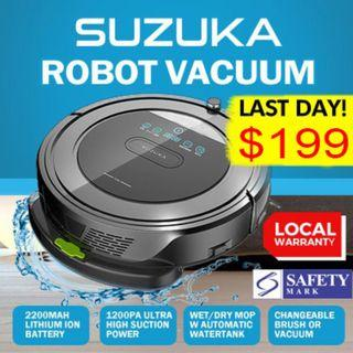 FREE DELIVERY!! Robot Vacuum Cleaner / Mopping Robot / Cordless Vacuum Cleaner /Automatic Vacuum / Smart Vacuum