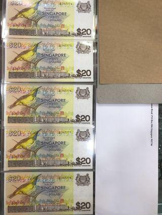 UNC bird note $20