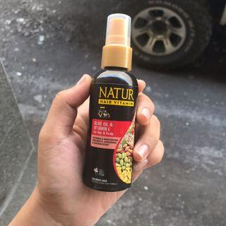 Nature hair vitamin
