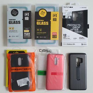 Huawei /  OnePlus / Samsung / Pocophone Case & Glass