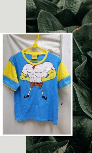 Kaos anak spongebob