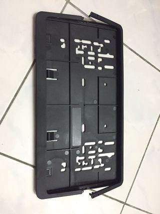 Frame plate