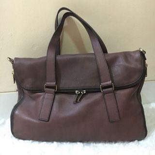 Fossil Preston Leather Handbag