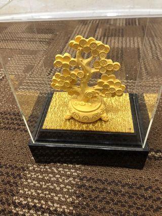 🚚 镀金发财树