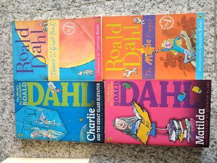 🚚 Ronald Dahl Books