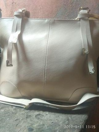 TAS IMPORT BAG CREAM