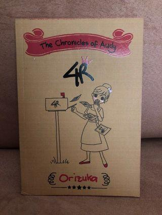 Novel The Chronicles of Audy
