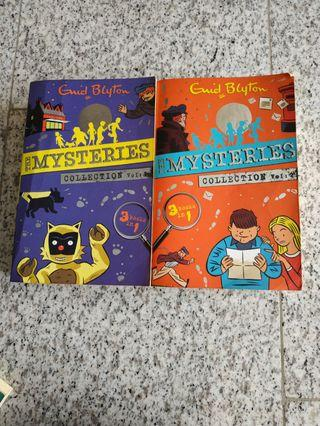 🚚 Enid Blyton's mysteries collection volume 2 & 3