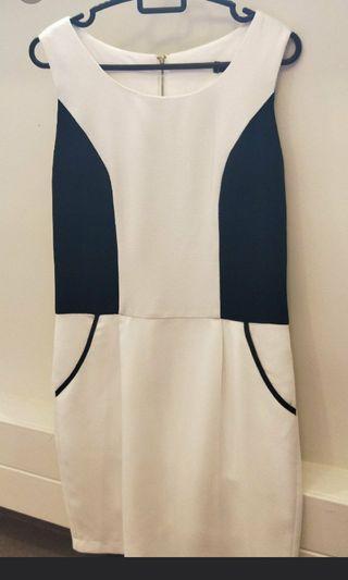 BN - White Office Dress
