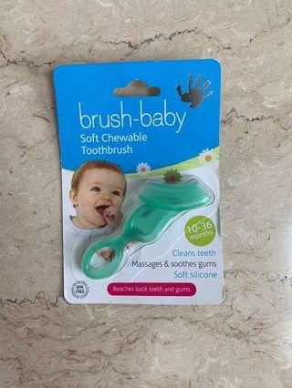 Brush Baby Soft Chewable Toothbrush 10-36 months