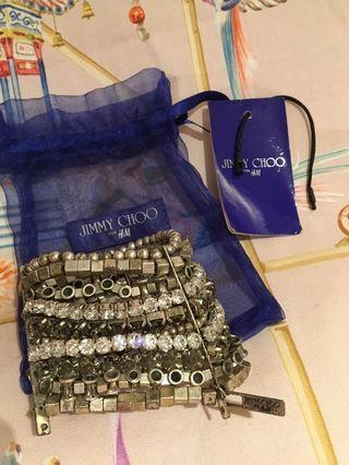Jimmy Choo X H&M Swarovski Bracelet