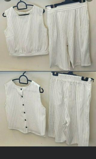 Stylo White Jumper - Can be worn as separately