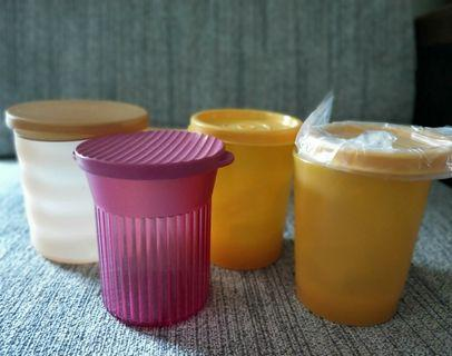 Tupperware Drinking Cups