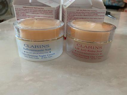 Clarins extra firming creams