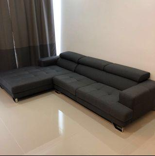 L shaped Modern Contemporary Sofa