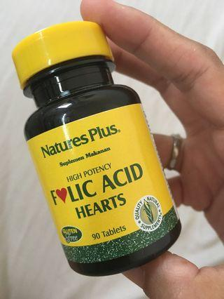 Vitamin Folic Acid ( asam folat )