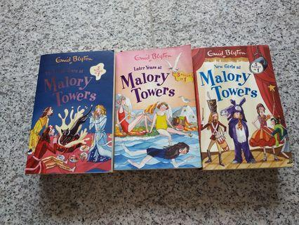 🚚 Enid Blyton Malory Tower series (a set of 3)