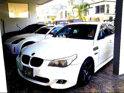 Bmw E60 530i(M54 engine) M-sport Bodykits                   (CASH BUYER@JUALAN TUNAI)