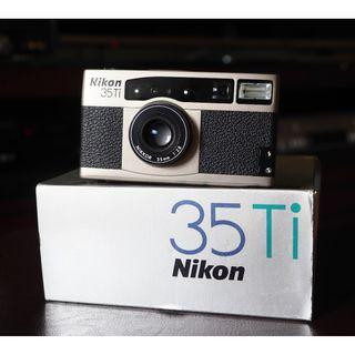 FS: Near Mint Nikon 35Ti film camera