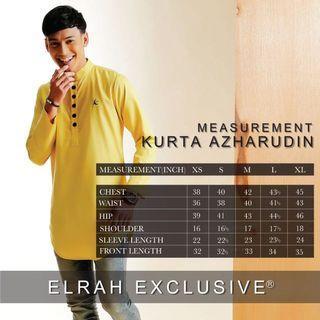 Jubah Elrah Exclusive - Kurta Azharuddin