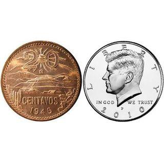 🚚 Scotch and Soda Magic transposition (Mexican and US Coins)