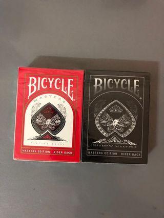 Ellusionist Bicycle Masters & Shadow Masters Deck