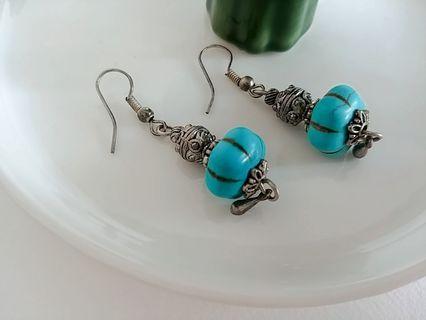 綠松石 Turquoise Earrings