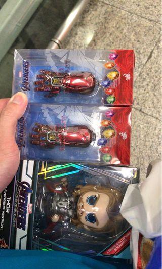 Nano Gauntlet Key Rings Avengers Endgame Hot Toys