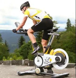 le tour de france simulator spin bike