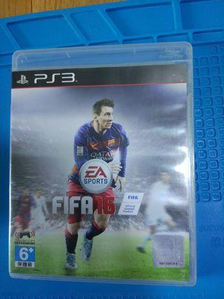 正版Ps3 games FIFA 16