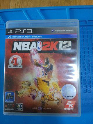 正版Ps3 move games nba 2k12
