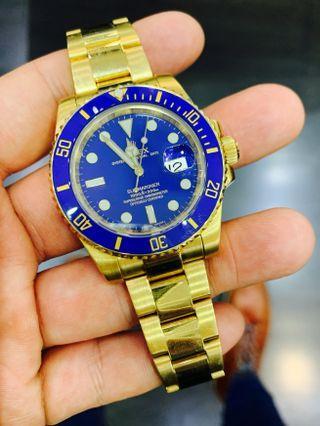 Rolex Submariner Yellow Gold 116613LB