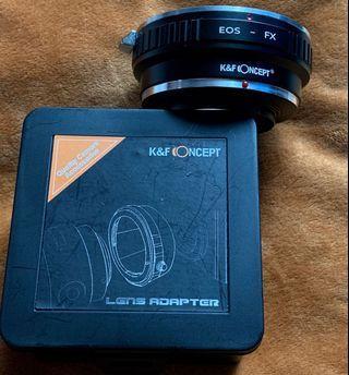 Lens Adapter ( Canon EOS to Nikon FX Mount)