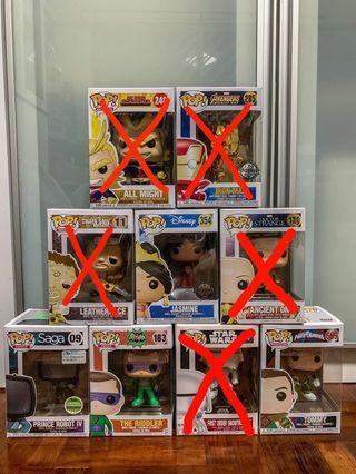 🚚 Funko Pops Clearance Sales