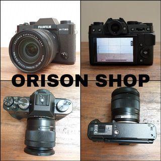 Kamera Fujifilm XT-20 XC16-50mm fullset bonus aksesoris dan Tas