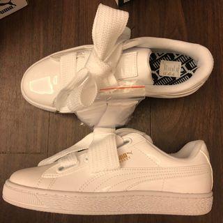🚚 Puma緞帶鞋 24cm 全新