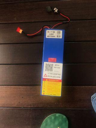 48v 10.4ah battery