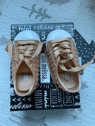 mini melissa baby shoes polibolha size 19-20