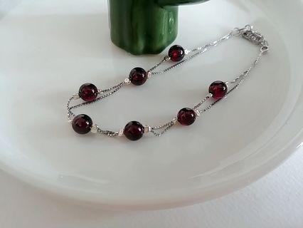 草莓石人緣手鍊 Strawberry Stone Bracelet
