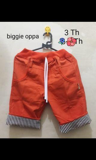 Celana Pendek biggie #BAPAU GIVEAWAY
