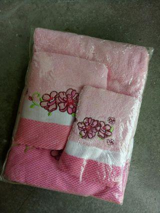 Set Tuala Mandi (Pink) #GayaRaya