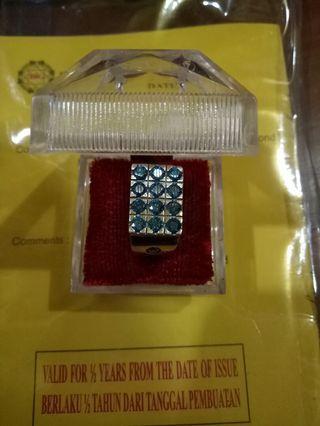 Greenish Blue Diamonds