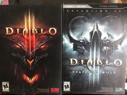 Diablo 3  Two box and cd