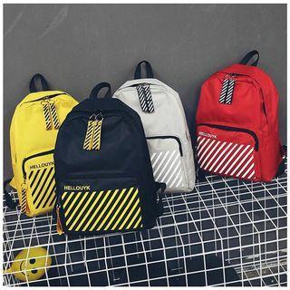 Hellouyk Stripe Backpack