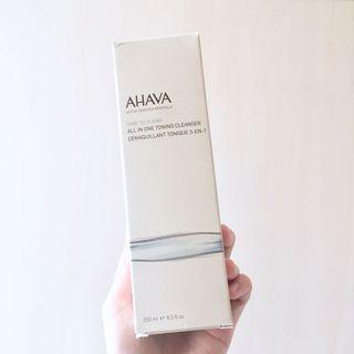 [包郵]AHAVA 全效卸妝潔面乳 Time To Clear All In One Toning Cleanser (250ml 貨size)