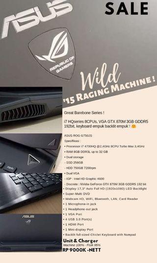 ASUS ROG G750 JS